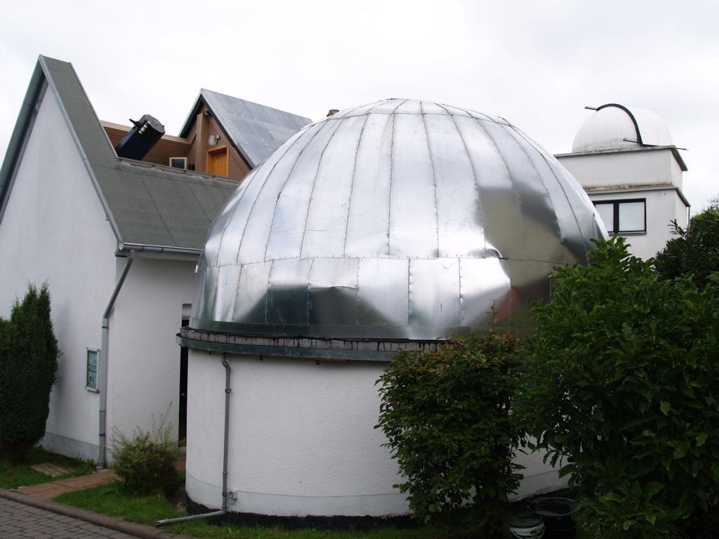 Klasse 8b besuchte die Sternwarte in Sessenbach