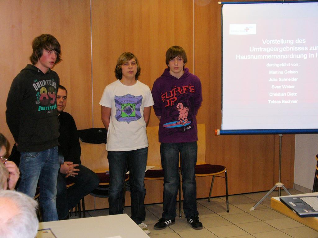 Von links: Sven Weber, Christian Dietz und Tobias Buchner