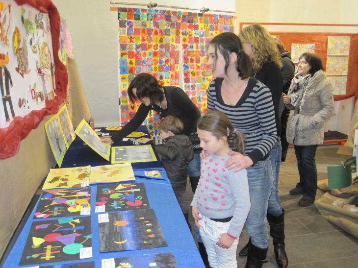 Stiftsmuseum Kunstausstellung lockte über 500 Besucher an zwei Tagen
