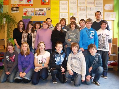 Die Klasse 7b am 11.03.2011