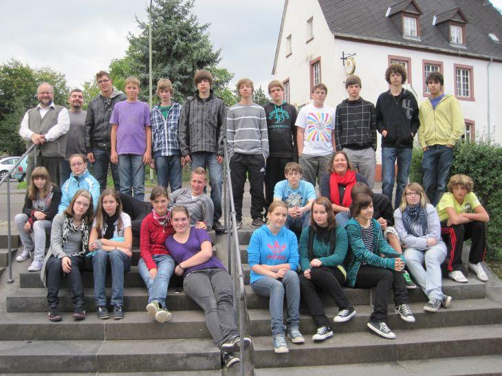 Die Klasse 9b verbrachte interessante Orientierungstage im Kloster Springiersbach.