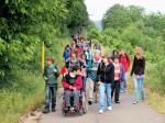 Achtklässler betreuten Menschen mit einer Behinderung