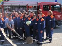 Die zukünftigen Feuerwehrmänner und -frauen