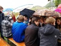 Klasse 9b nimmt teil am Wandertag im Kloster Ebernach