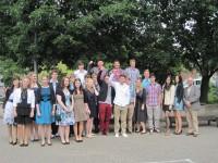 Die 10. Klasse der Realschule Plus Treis-Karden mit Klassenlehrer Benedikt Schmitt.