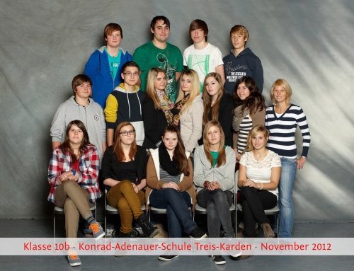 Klassenfotos 2012/2013