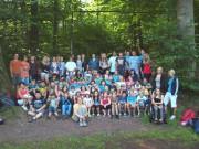 Gemeinsamer Wandertag der 10er mit ihren Paten aus der 5. Klasse