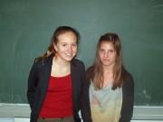 Austauschschülerinnen bringen die französische Kultur an unsere Schule