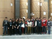Die 9. Klassen besuchen das neue Druckhaus der Rheinzeitung