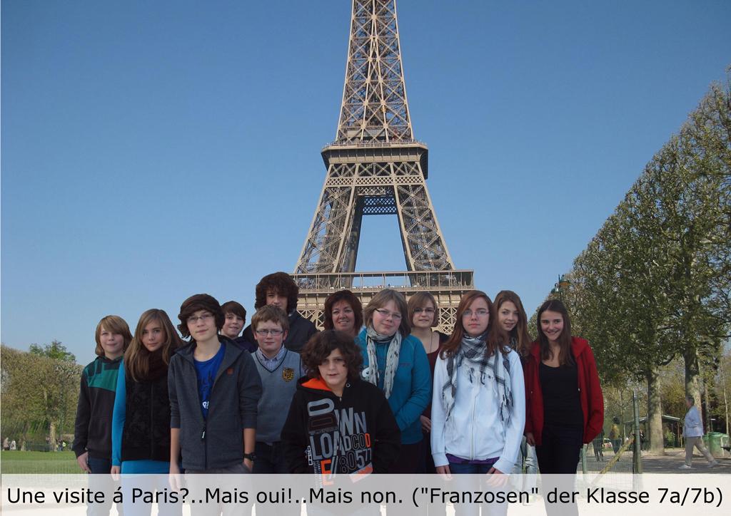 Die Franzosen in Frankreich