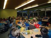 Die 5. und 10. Klassen organisieren ein gemeinsames Frühstück und Flagfootball-Turnier