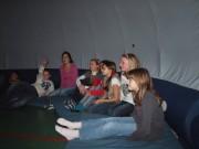 Mobiles Planetarium zu Besuch an der GRS