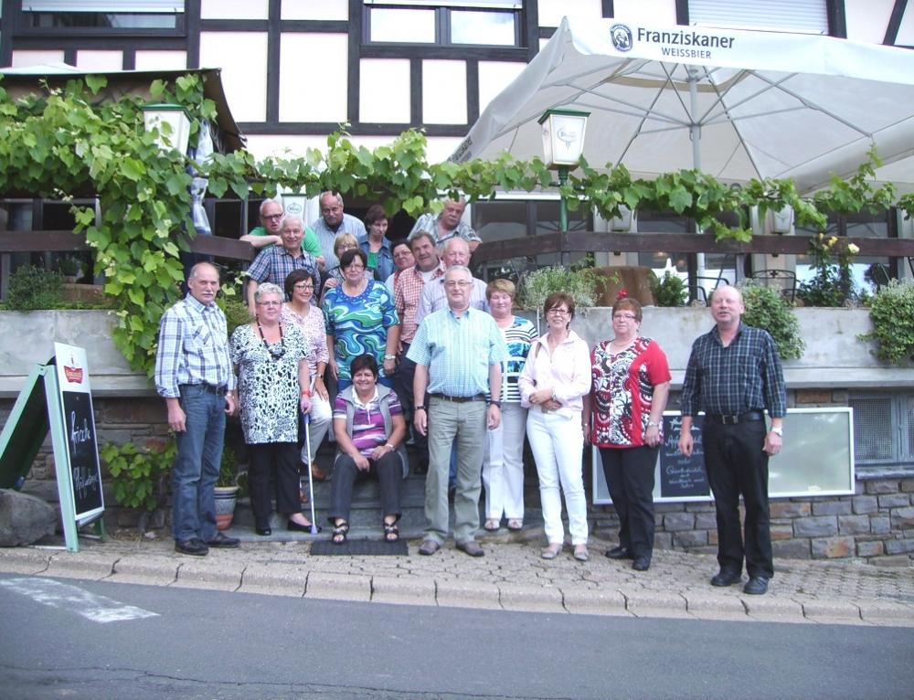 """Klassentreffen der """"Ehemaligen Neuntklässler""""  der Konrad Adenauer-Schule in Treis – Karden"""