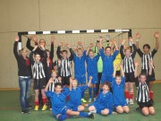 Die beiden Mannschaften der Realschule+ Treis-Karden