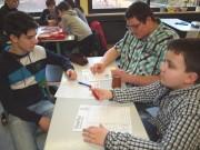 Fünft-und Zehntklässler führen lebendige Schülerpatenschaften