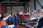 Selbstverständlich gehören auch Einsatzboote zur Ausrüstung der LFKS auf dem Asterstein.
