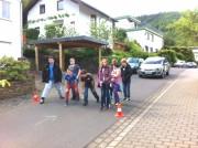 """Die Klassen 5a und 5b nahmen an der Aktion """"Achtung Auto"""" des ADAC teil"""