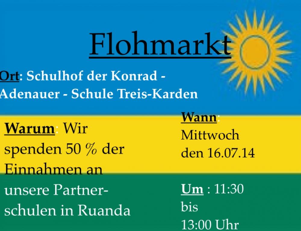 16.07.14 – Flohmarkt an unserer Schule