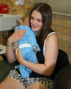 Babygeschrei im Klassenzimmer