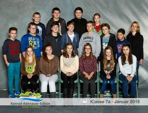 Klassenfotos 2014/2015