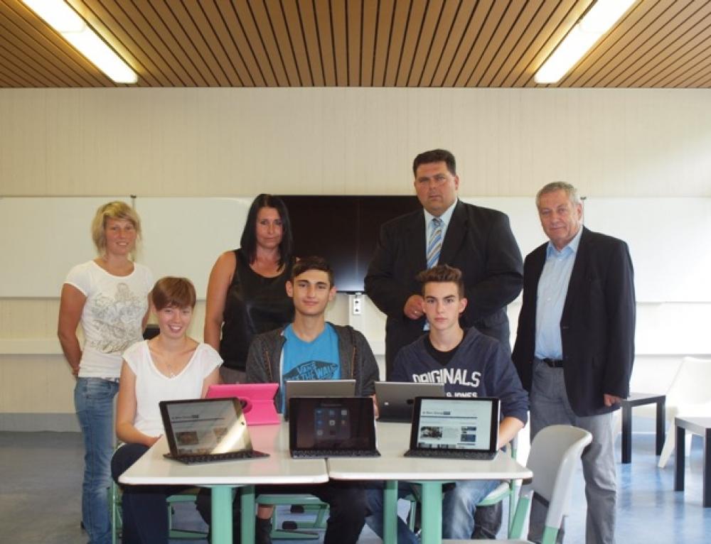 Treiser Schule startet Tablet-Projekt