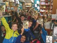 Besuch der Buchhandlung Layaa-Laulhe