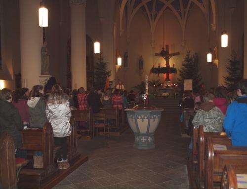 Gemeinsamer Weihnachtsgottesdienst der Grundschule und Orientierungsstufe