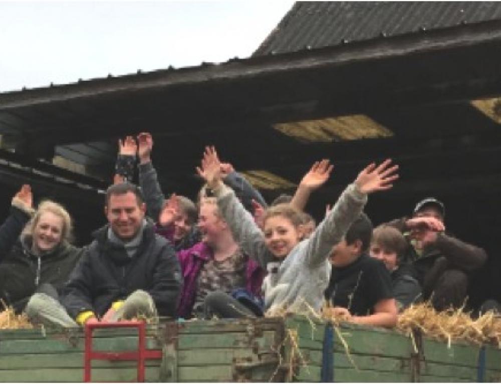 Natur und Landwirtschaft zum Anfassen- Klassenausflug der 7b