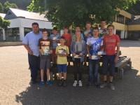 Die besten Teilnehmer des Firmenlaufes in Cochem