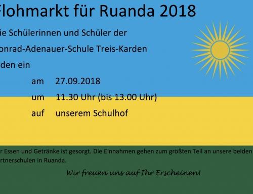 Flohmarkt für Ruanda 2018