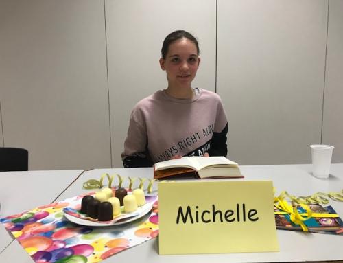 Michelle Müller schlug sich souverän beim Kreisentscheid des Vorlesewettbewerbes