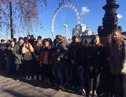 Neuntklässler besuchten London