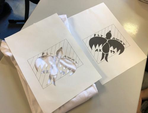 Projekttag der Klasse 10 – DIY-Shirts mit Siebdruck