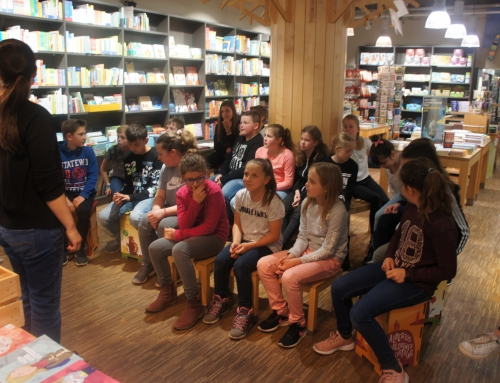 Klasse 4 feiert den Welttag des Buches