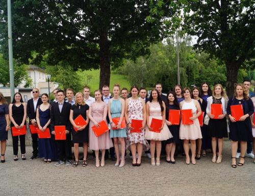 Konrad-Adenauer-Schule Treis-Karden: 37 junge Menschen ins Leben entlassen