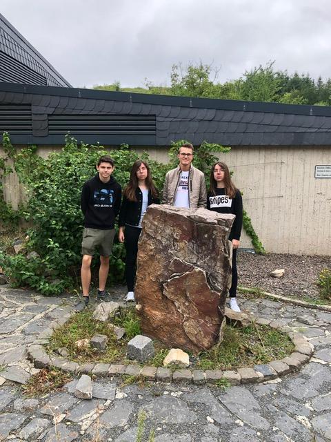 Das Schülersprecherteam der Konrad-Adenauer-Schule