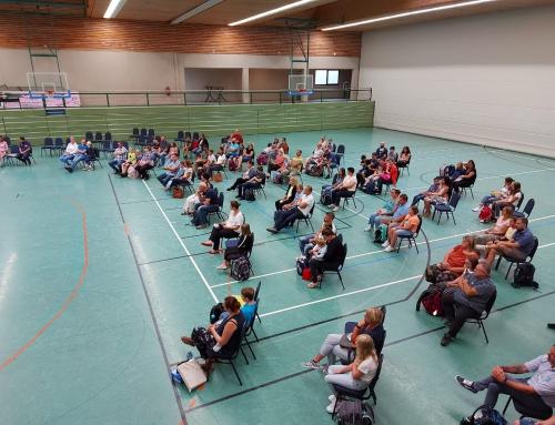 Einschulung von 34 Fünftklässlern an der Konrad-Adenauer-Schule