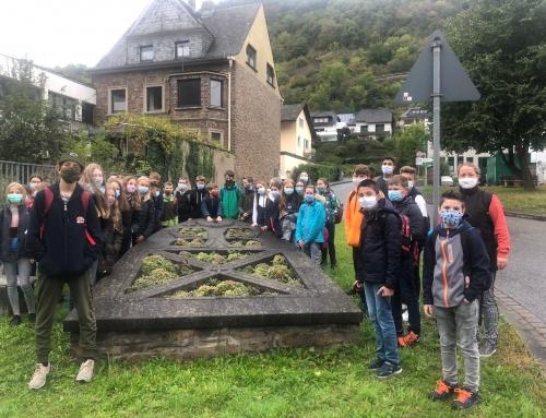 Die Klassen 7a und 7b auf den Spuren der Römer, Merowinger und Franken