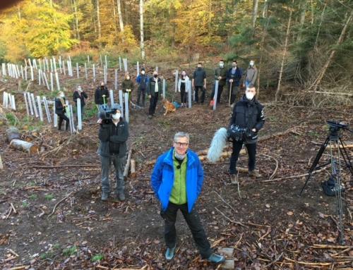 Unser Schulwald bei der SWR-Landesschau Rheinland-Pfalz