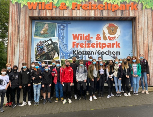 Klasse 8b besucht den Klotti-Park